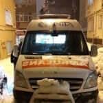 karlı günde ambulans kiralama